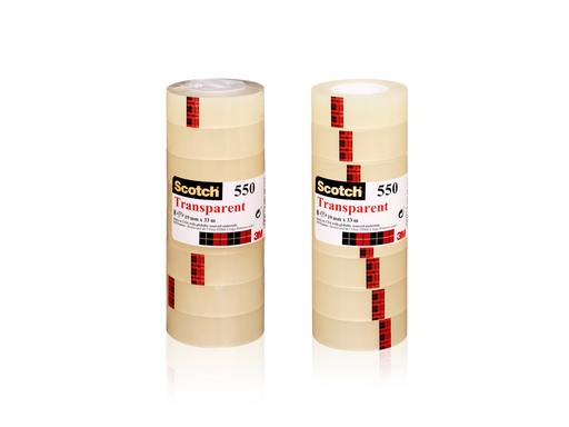 SCOTCH® Transparante Tape Toren - 19mm x 33mtr | 8rollen 1