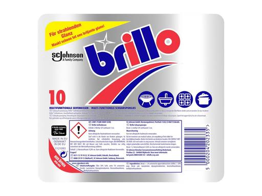 BRILLO Multi-Functionele Schuurspons | 10st 1