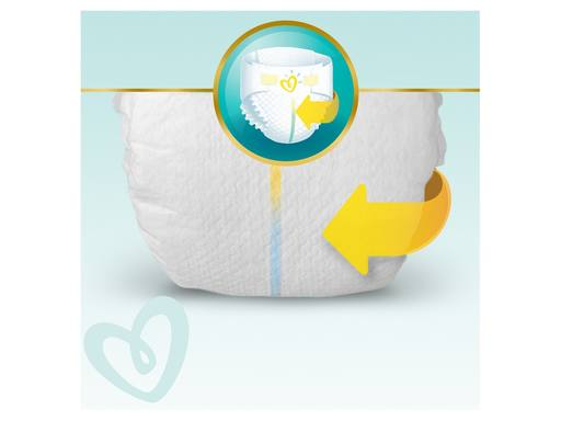 PAMPERS Premium Protection New Baby Luiers Micro Maat 0 | 24st 4