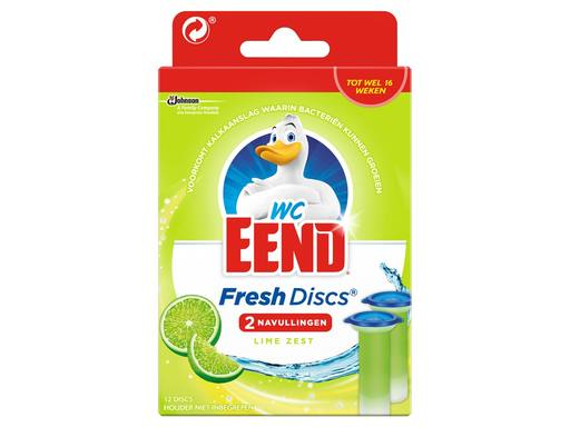WCEEND Fresh Discs Navulling Duo Lime | 72ml 1
