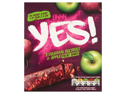 YES! Rode Biet & Appel Fruitreep 3-pack | 3x32gr 2