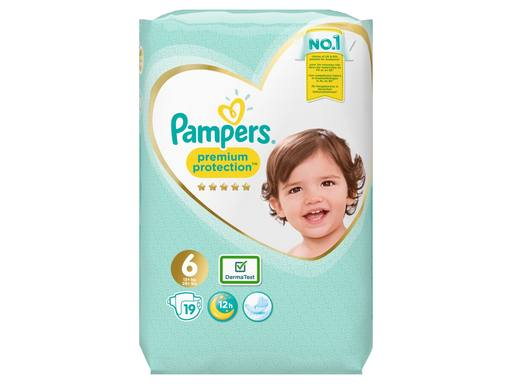 PAMPERS Premium Protection Luiers Key Size Xl Maat 6 | 19st 1