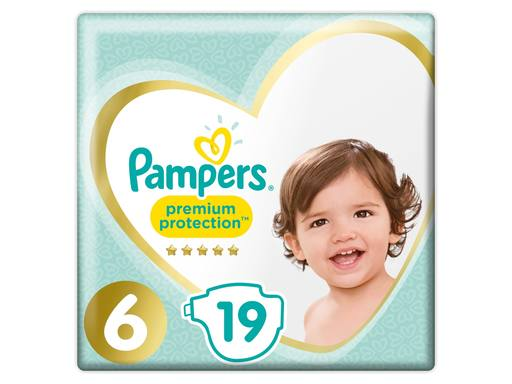 PAMPERS Premium Protection Luiers Key Size Xl Maat 6 | 19st 2