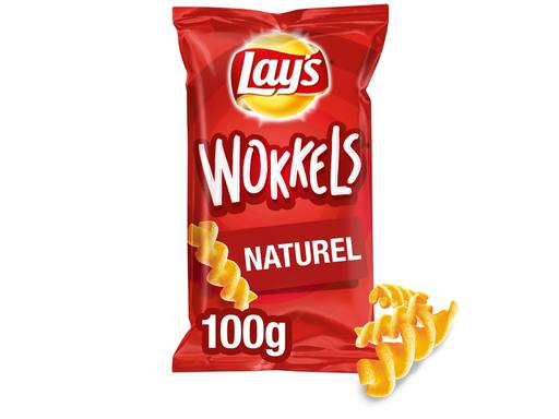 LAY`S Wokkels Naturel Chips | 100gr 2