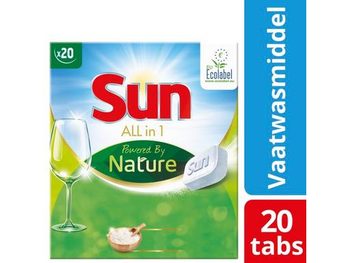 SUN All-in-1 Tabs Powered By Nature | 20tabs 1