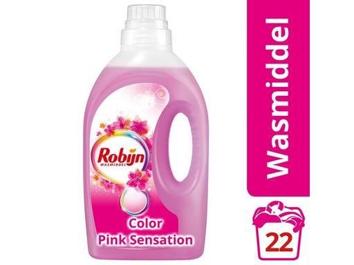 c1ef522d34a ROBIJN Vloeibaar Wasmiddel Color Pink 22scoops