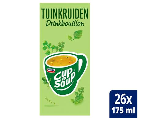 UNOX CUP A SOUP Drinkbouillon Tuinkruiden | 26x175ml 1