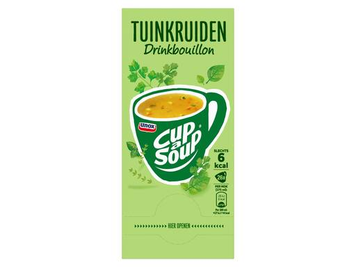 UNOX CUP A SOUP Drinkbouillon Tuinkruiden | 26x175ml 3