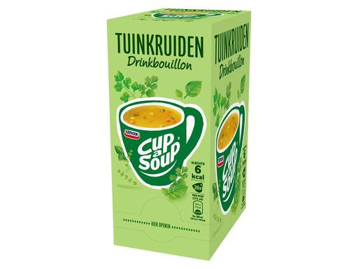 UNOX CUP A SOUP Drinkbouillon Tuinkruiden | 26x175ml 5