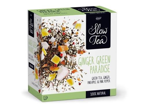 PICKWICK Slow Tea Green Ginger Paradise | 25x2.7gr 3