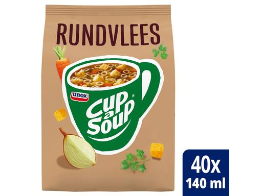 CUP A SOUP Vending Rundvlees tbv Dispenser | 40x140ml 1