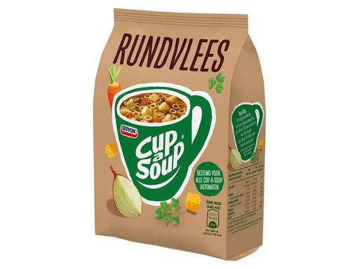 CUP A SOUP Vending Rundvlees tbv Dispenser | 40x140ml 5