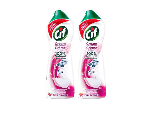 CIF Cream Pink Flower - Multipack | 2x750ml 1